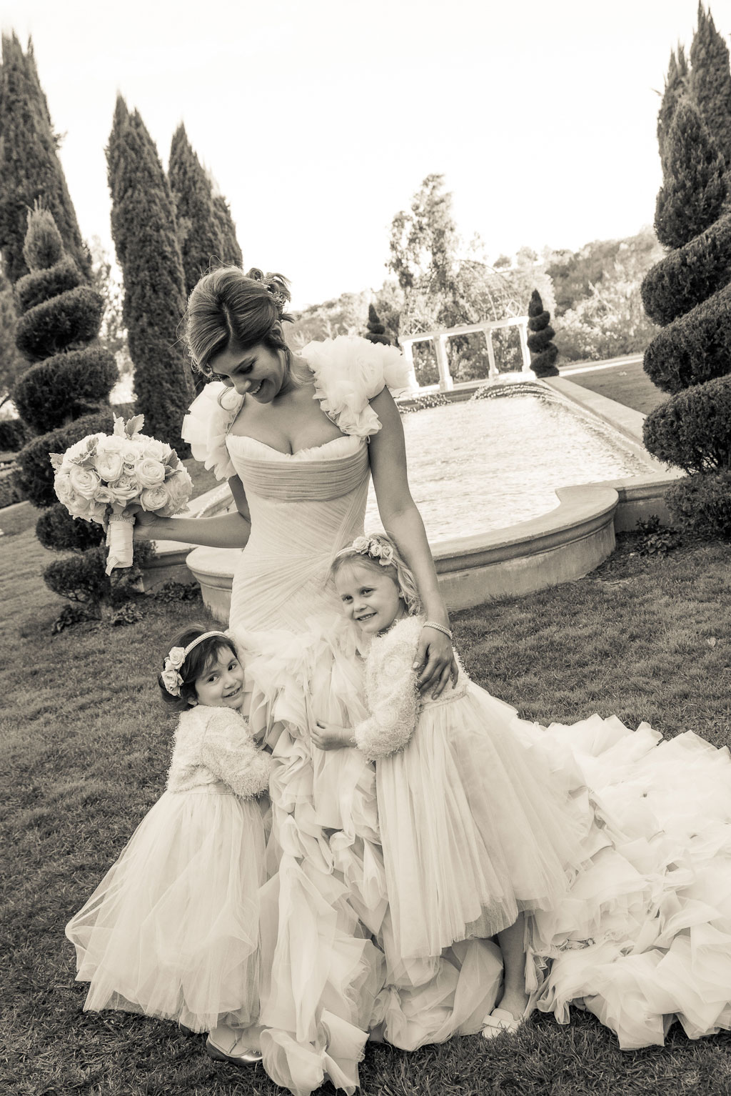 Wedding Photos Adorable Flower Girls Brides Inside Weddings