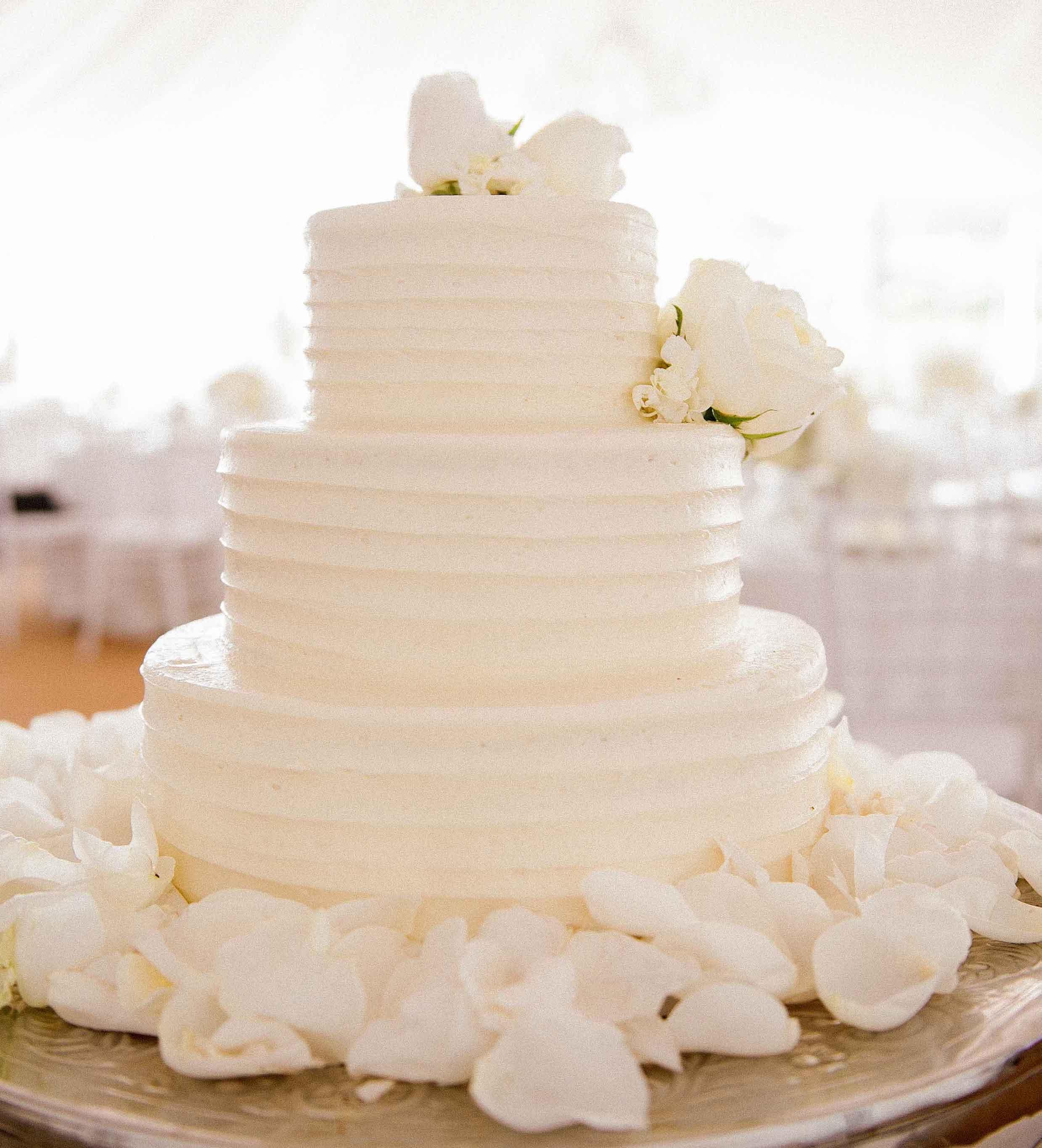 Wedding Cakes White Wedding Cake Ideas Inside Weddings