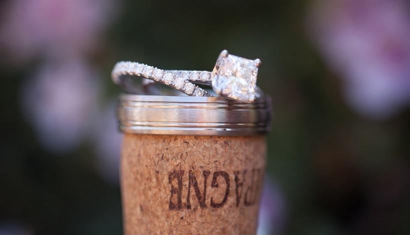 samira wiley engagement ring inspiration, princess cut diamond in pave band