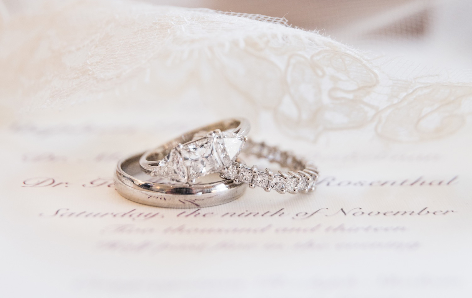 samira wiley engagement ring inspiration, princess cut diamond ring with triangle side stones