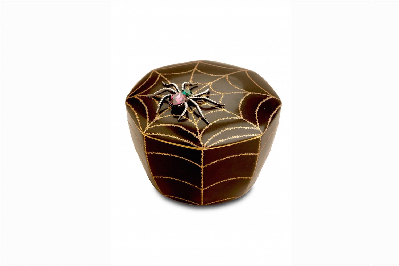Spider Web decorative halloween storage