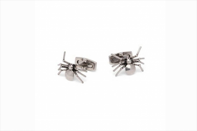 Spider cuff links wedding halloween gifts accessories