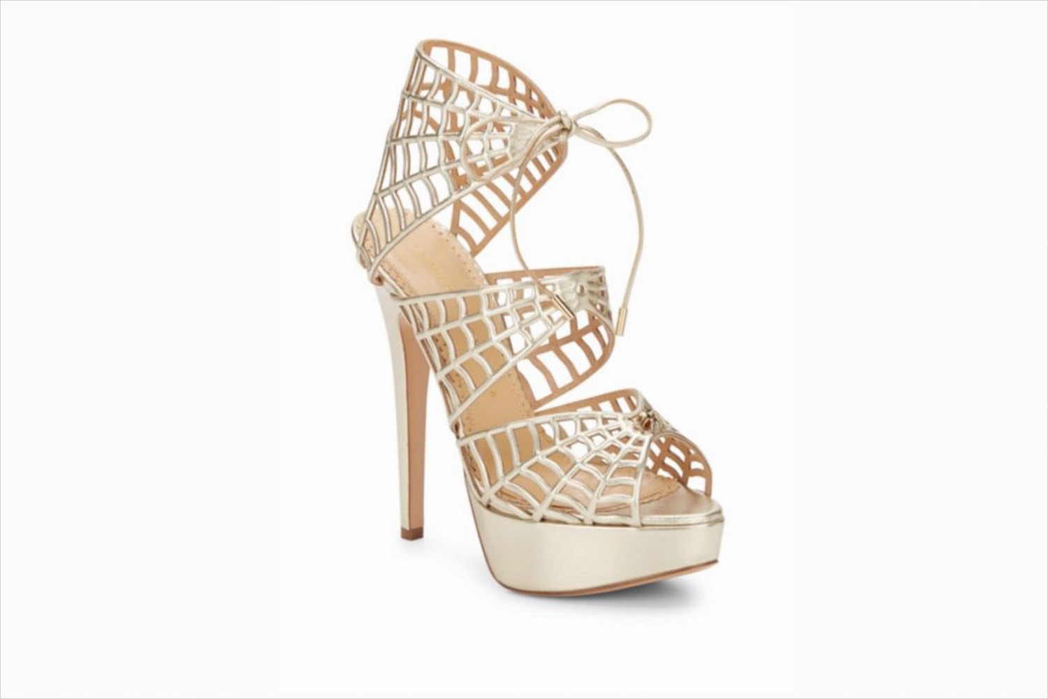 Charlotte Olympia wedding shoes spiderweb