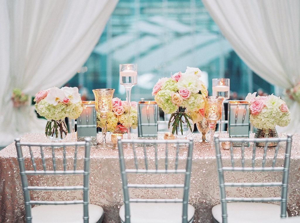 Silver Chiavari Chairs Wedding Details
