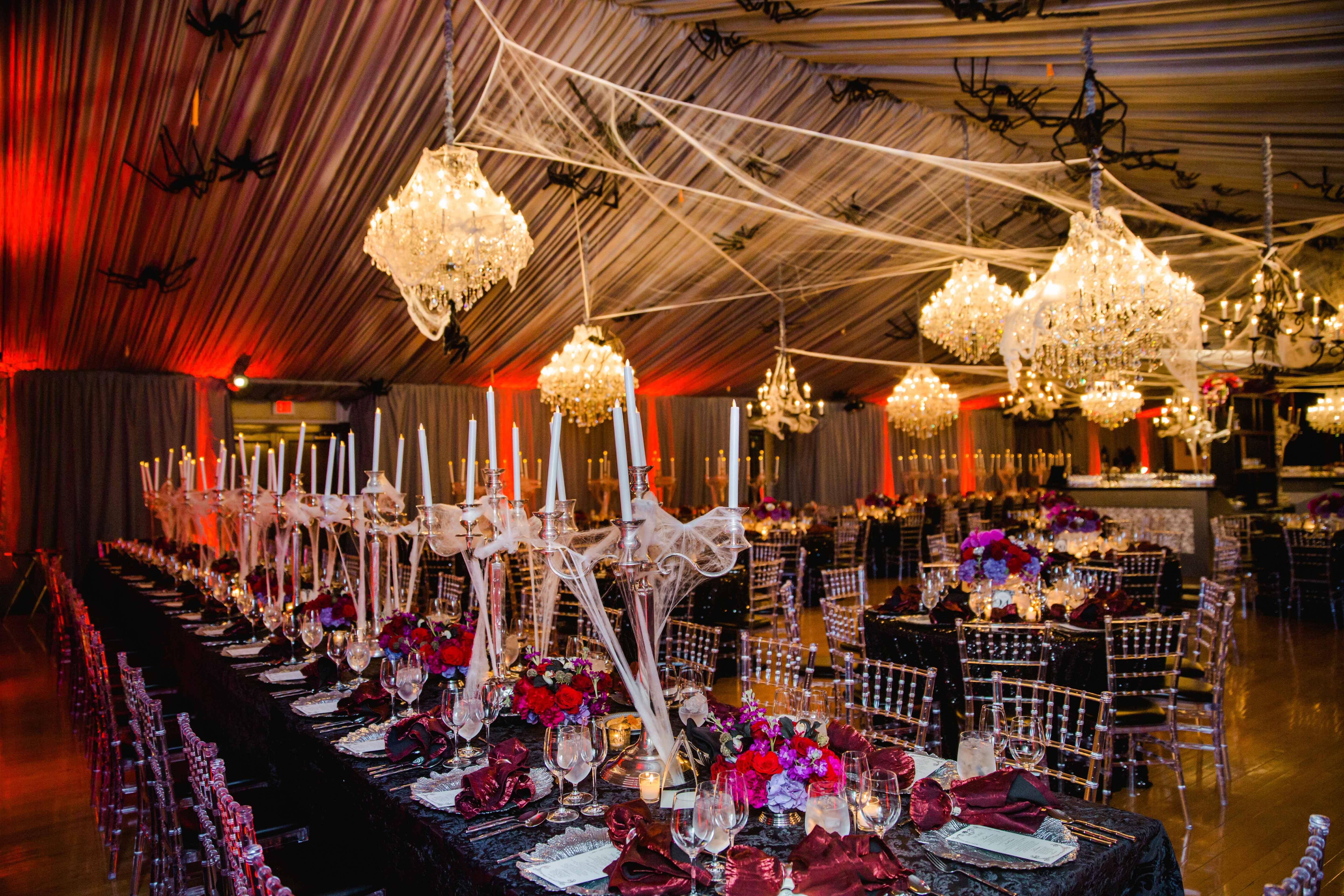 A Chic And Sophisticated Halloween-Themed Wedding