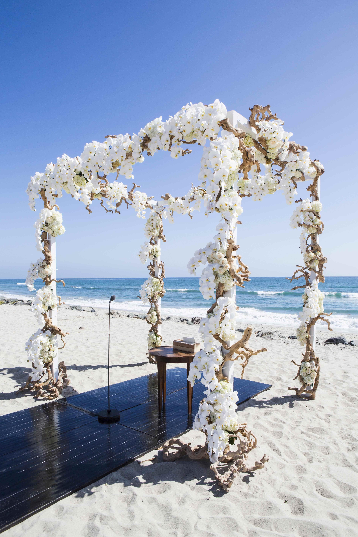 Seaside Beach Weddings On The Sand Inside Weddings
