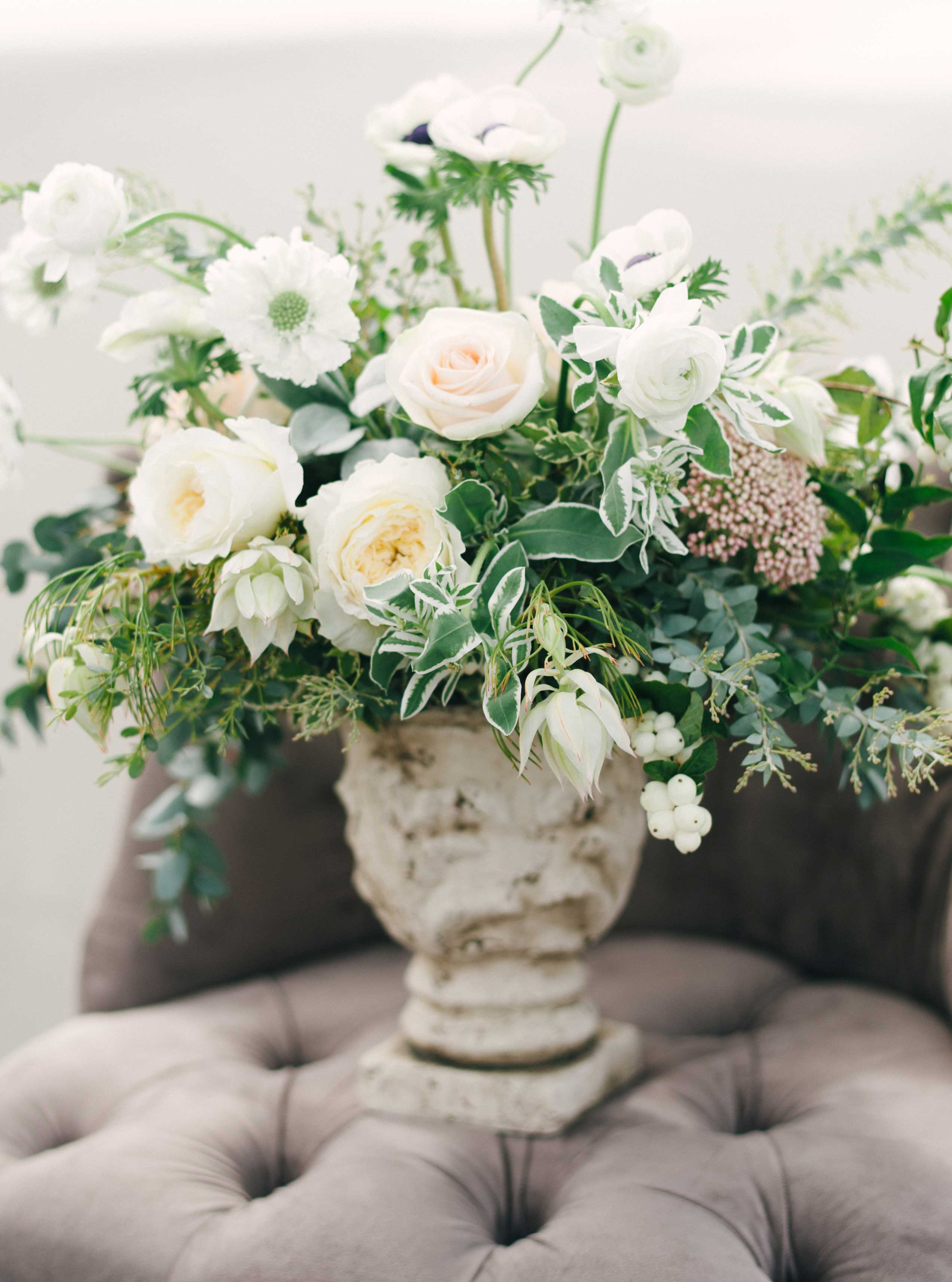 Wedding Color Palette Ideas: Muted Blue & Grey - Inside ...