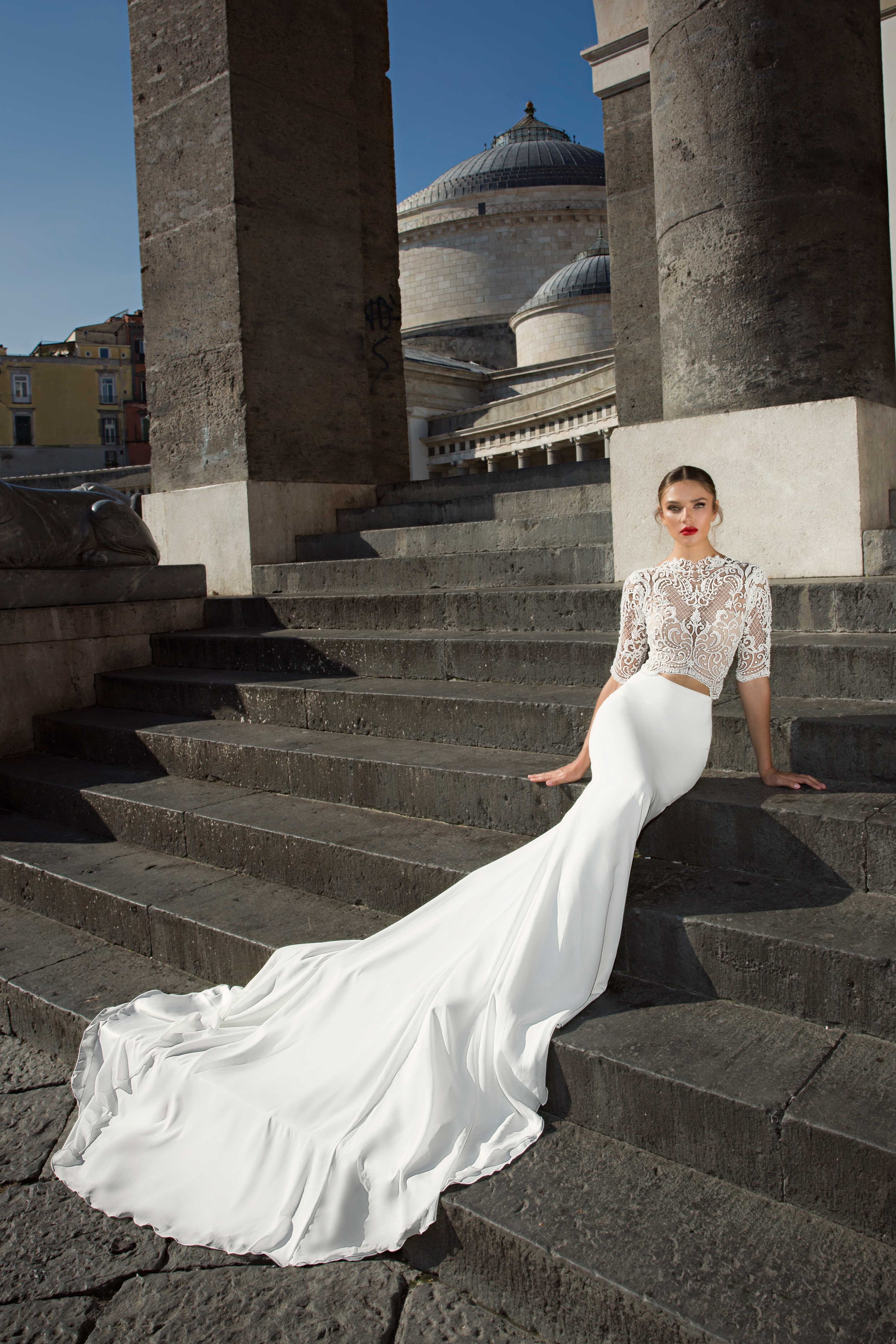 bb863750204 Wedding Dresses with Long Trains Inspired by The Cheetah Girls Star ...