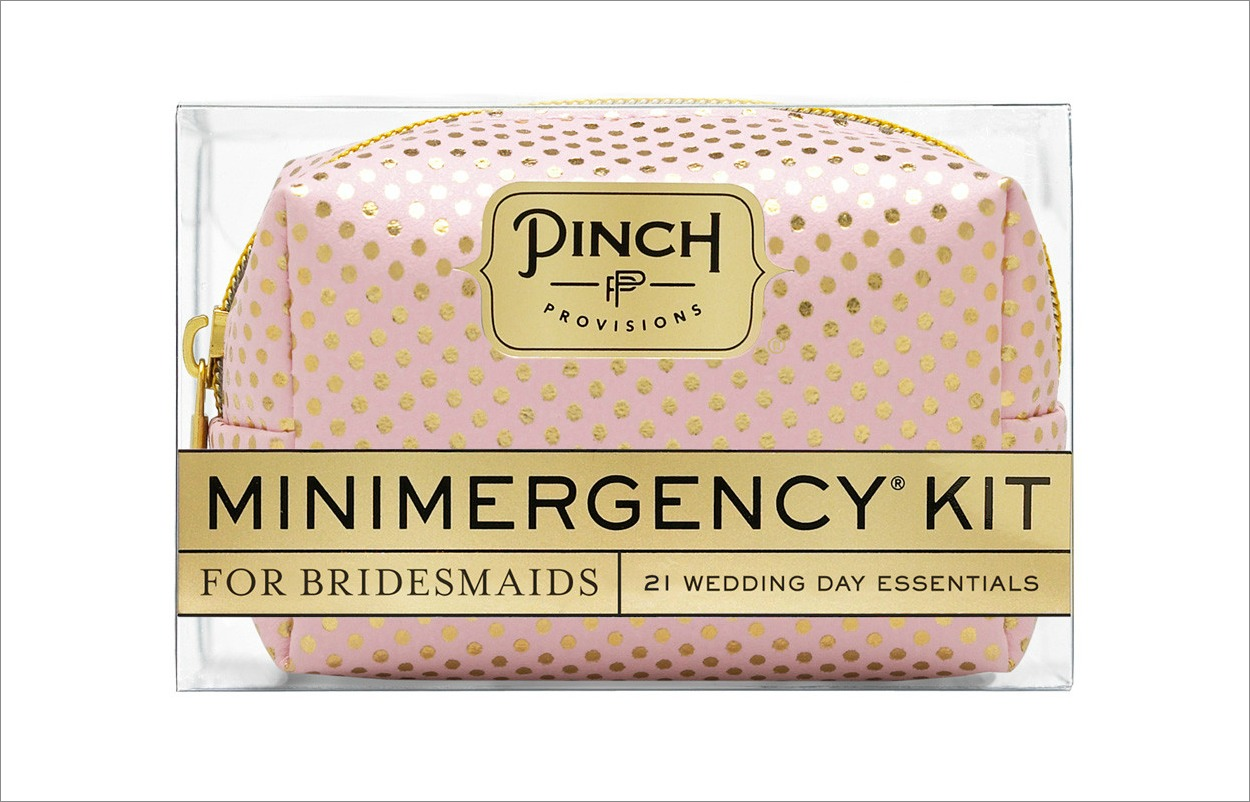 Pinch Provisions mini emergency kit for bridesmaids gift idea
