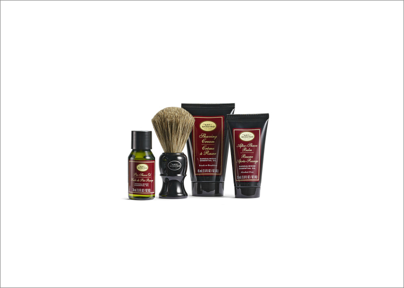 The Art of Shaving mid-size kit travel groomsman groomsmen groom gift idea holiday