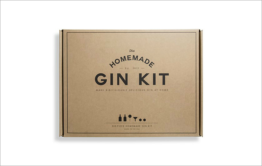 Homemade gin kit groom groomsman groomsmen gift idea holidays