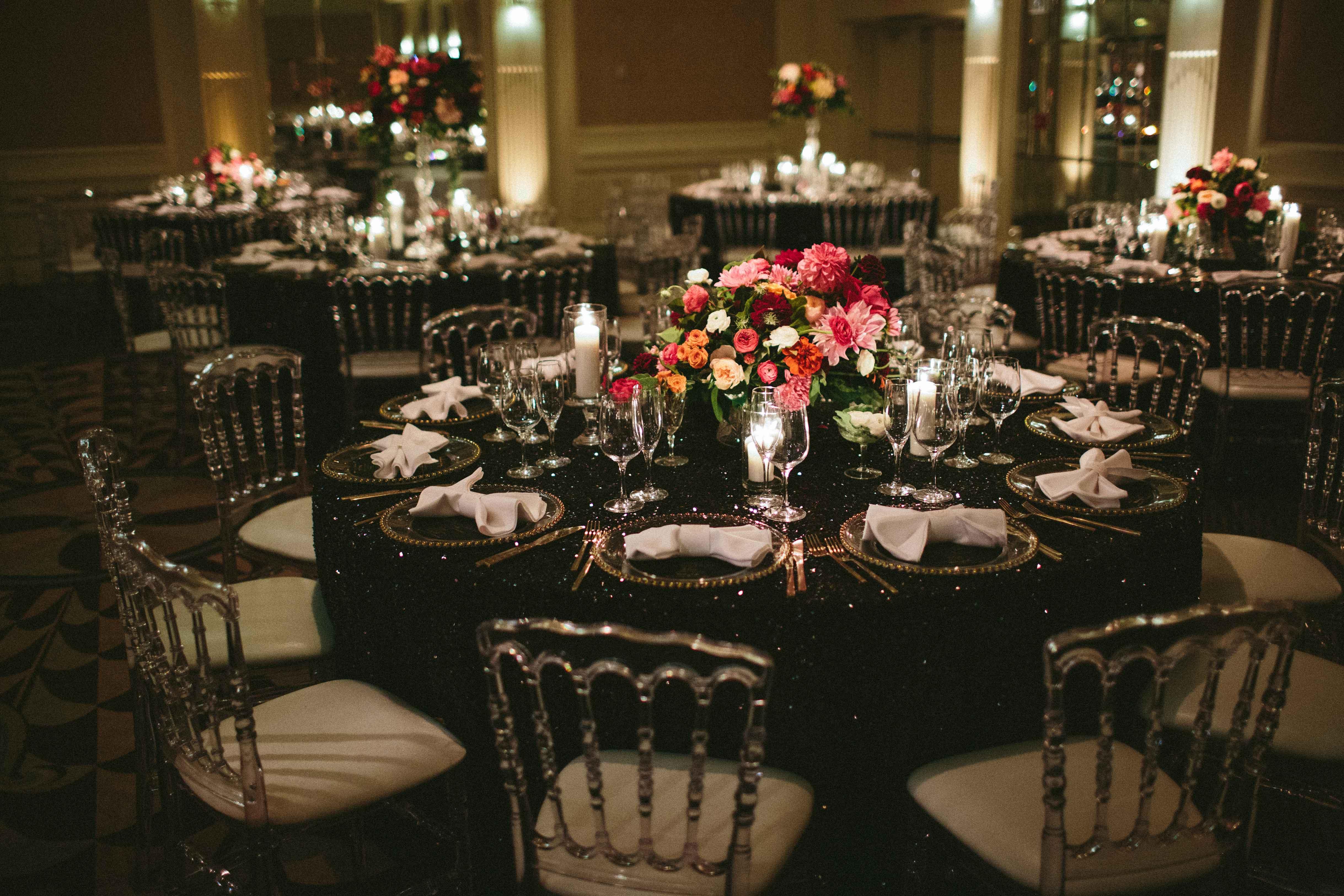 Wedding Color Palette Ideas Dark Moody Hues Inside Weddings