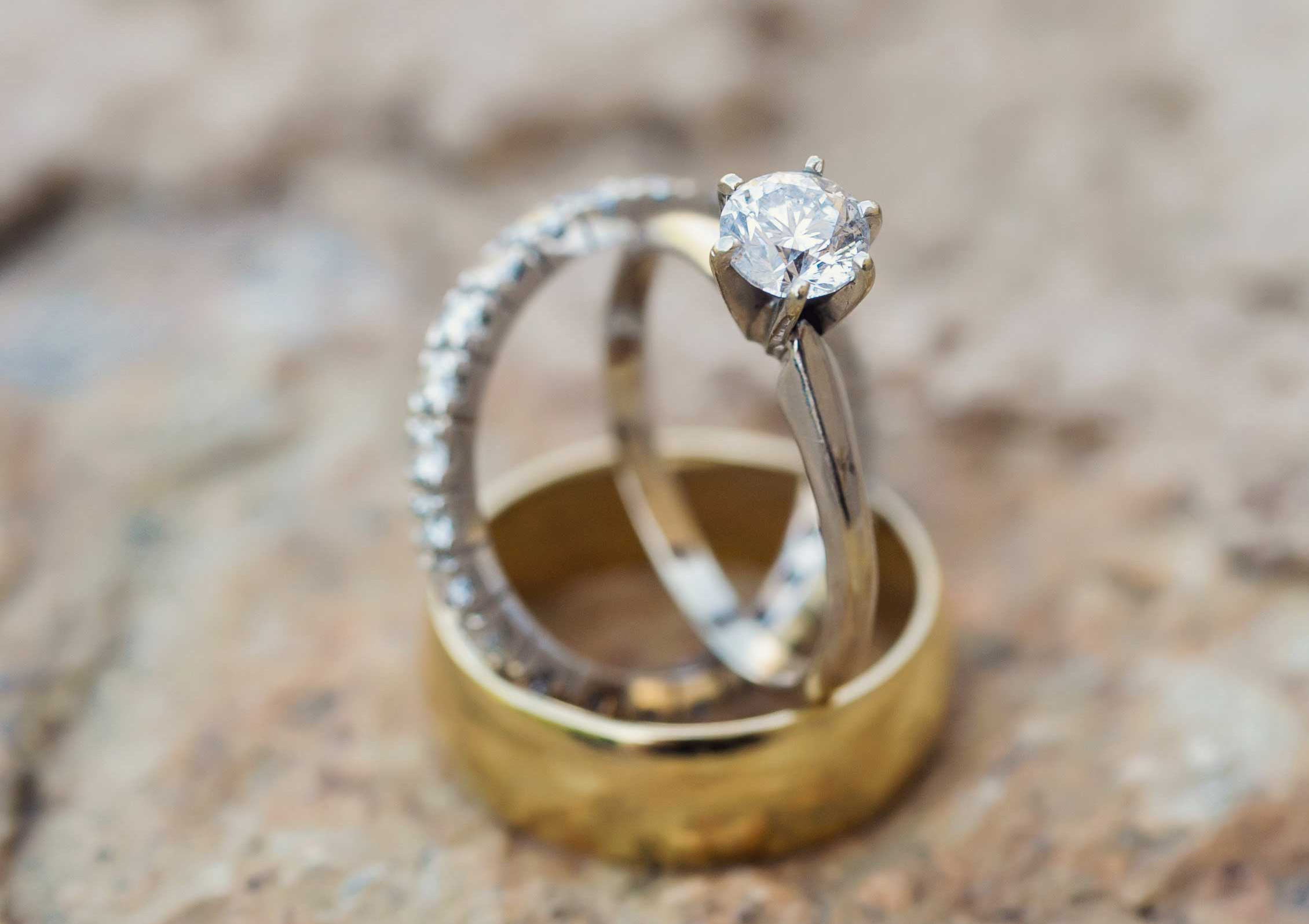 morena baccarin engagement ring inspiration, white gold platinum solitaire small diamond