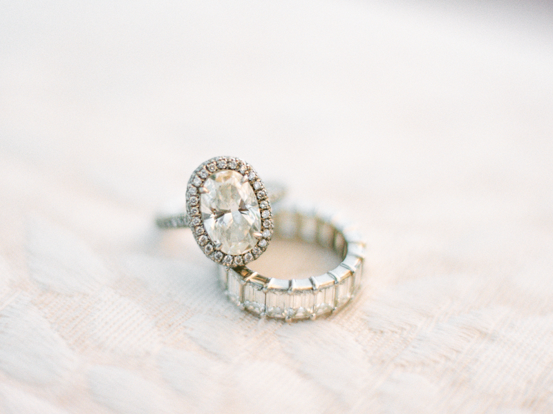 morena baccarin engagement ring inspiration, oval diamond with halo and pavé setting