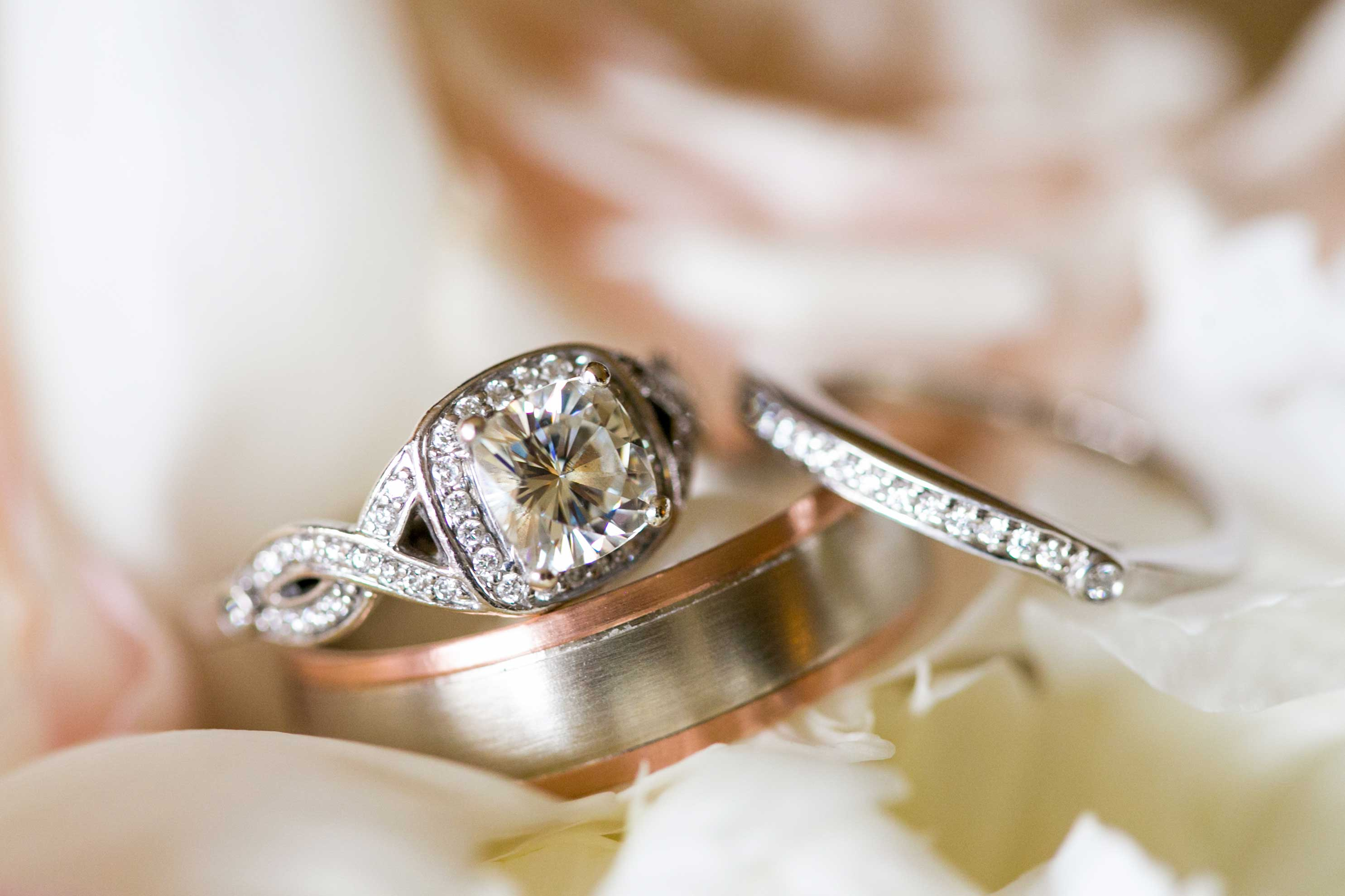 grooms explain how they found the perfect engagement ring