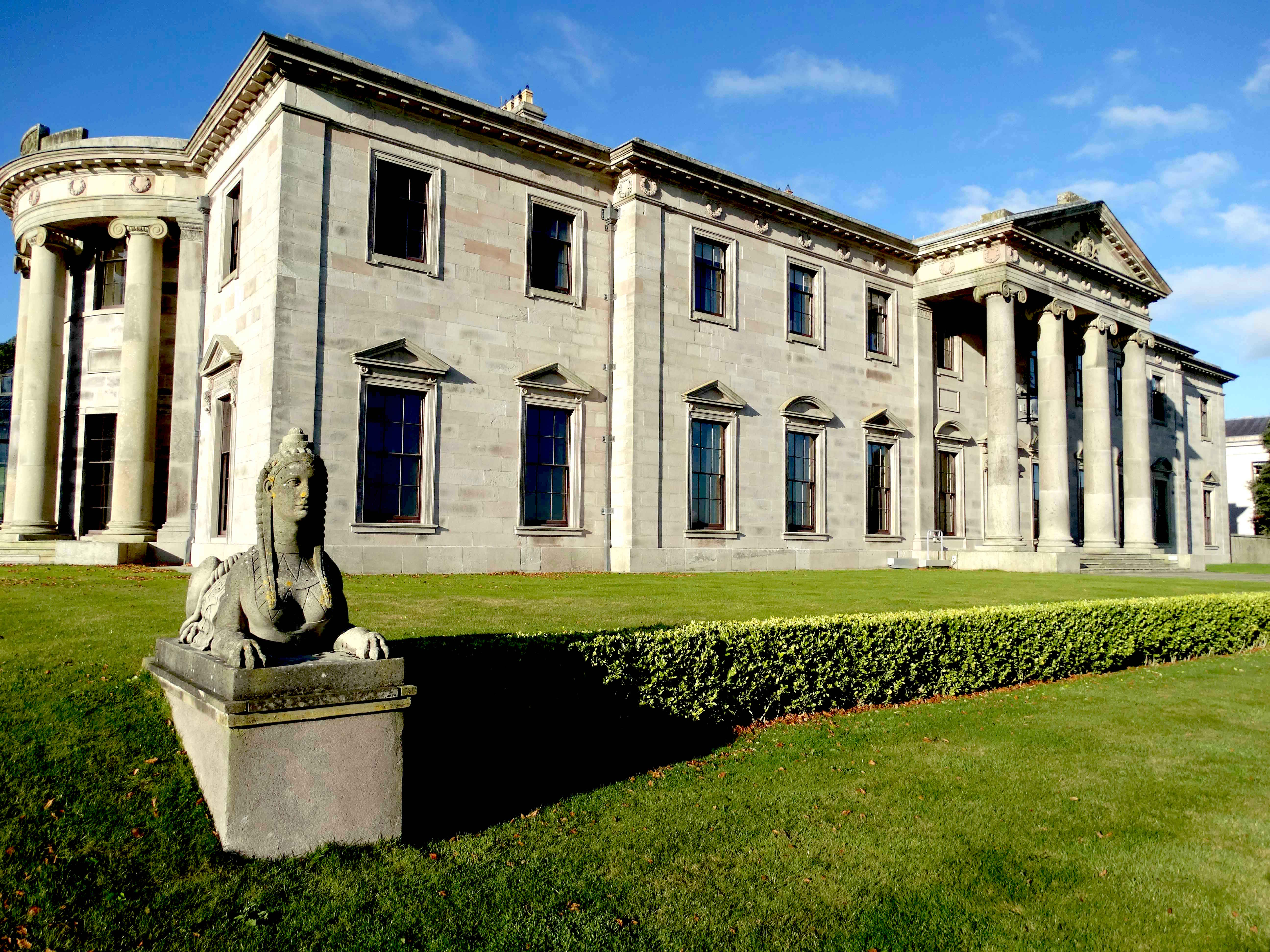 Ballyfin House in Ireland