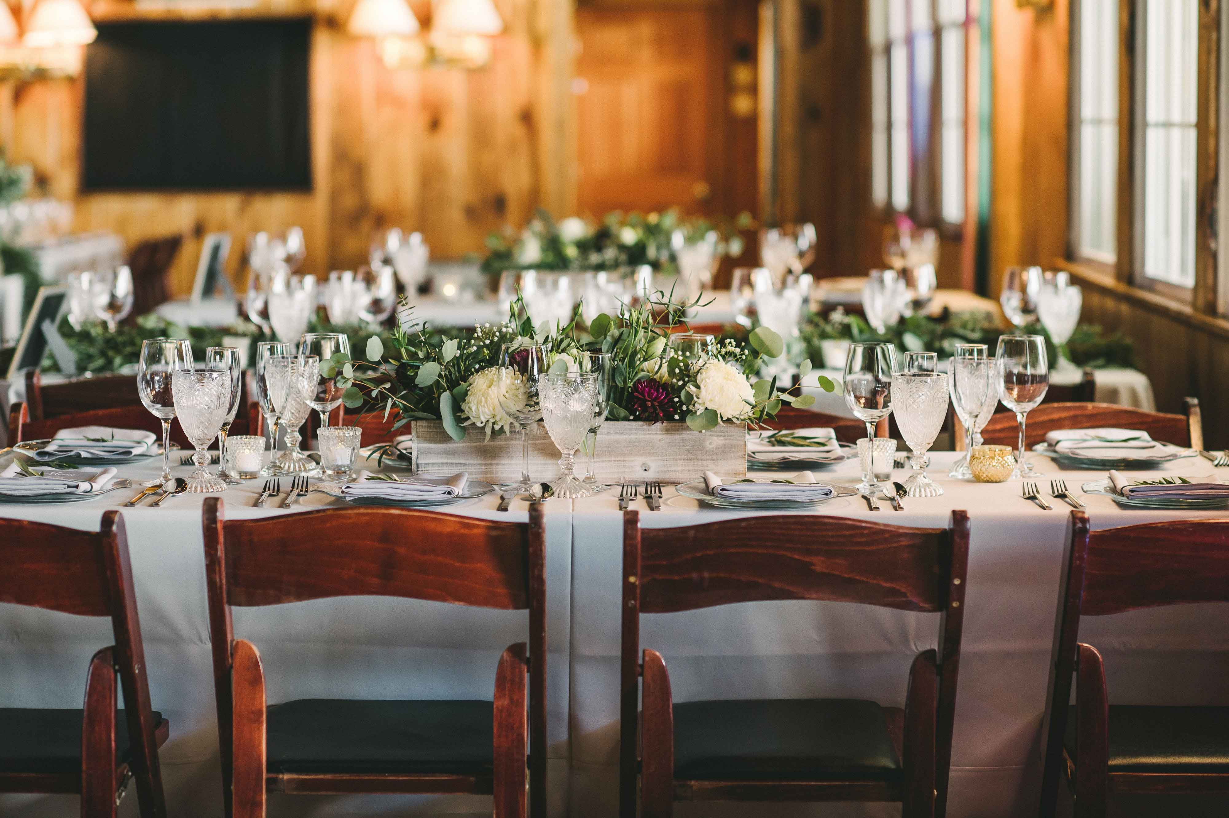Rustic Seaside Wedding With Hunter Green Color Palette In Maine