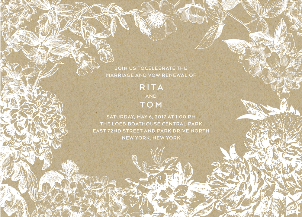 Tom Hanks and Rita Wilson vow renewal prediction mindy weiss wedding paper divas