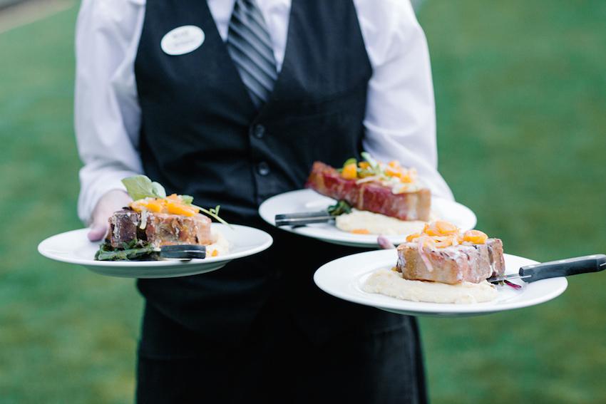 Wedding Reception Defining Three Types Of Table Service Inside
