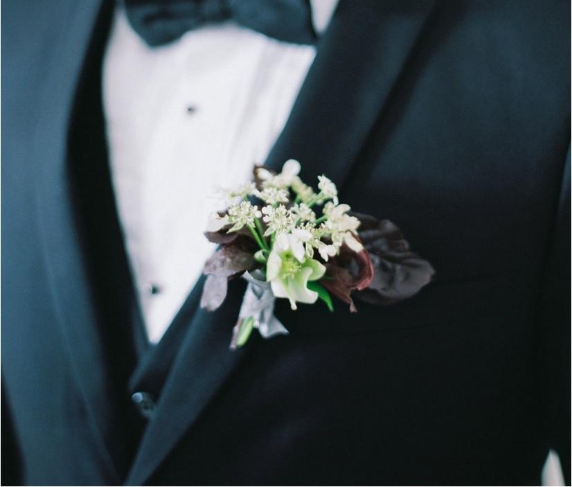 kris bryant wedding inspiration rustic boutonniere jessica delp