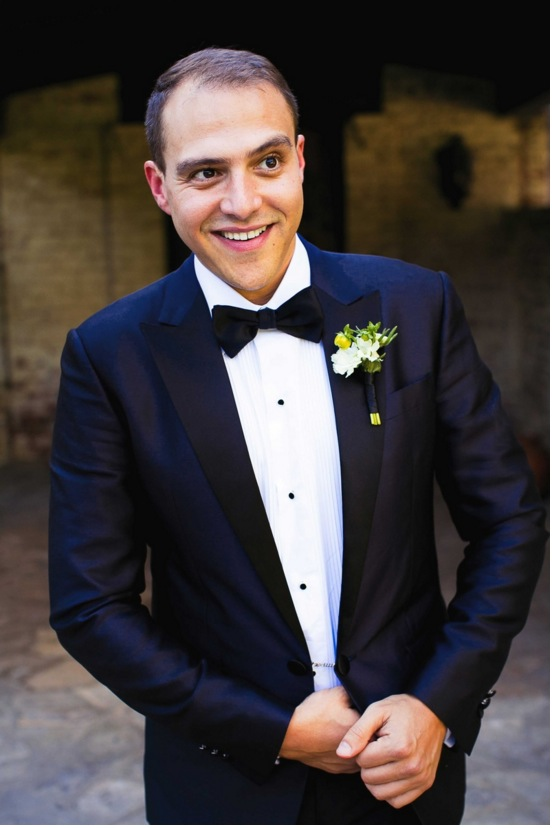 kris bryant wedding inspiration navy blue suit tuxedo black lapel