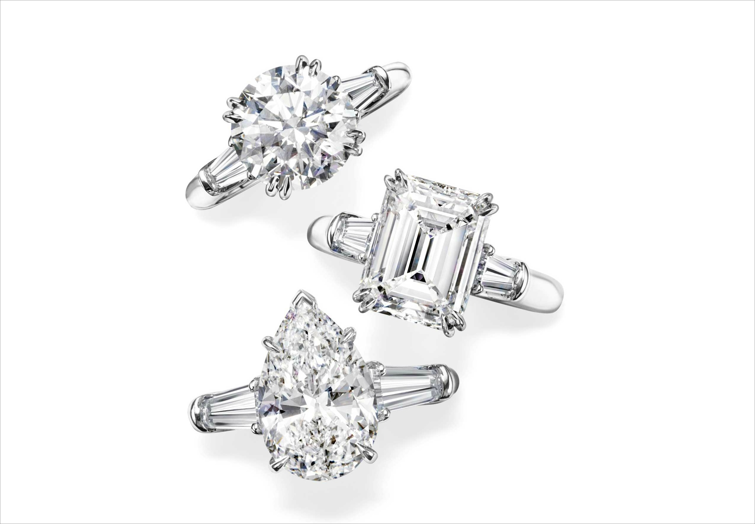 "Harry Winston engagement rings for House of Harry Winston proposal package ""Love Is In the Air"" Montage Kapalua Bay"