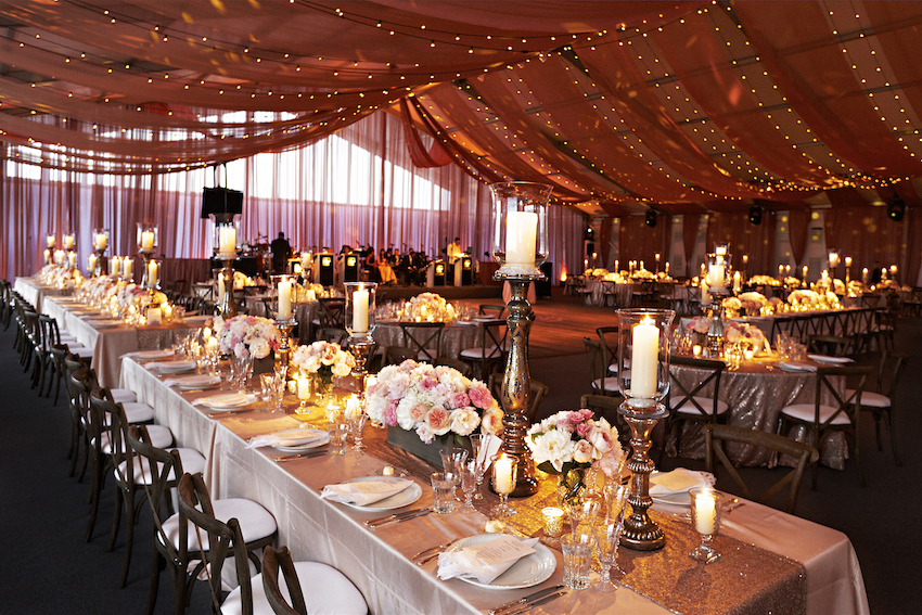 Luxurious Summer Tent Wedding on Lake Michigan in Chicago Illinois - Inside Weddings & Luxurious Summer Tent Wedding on Lake Michigan in Chicago Illinois ...