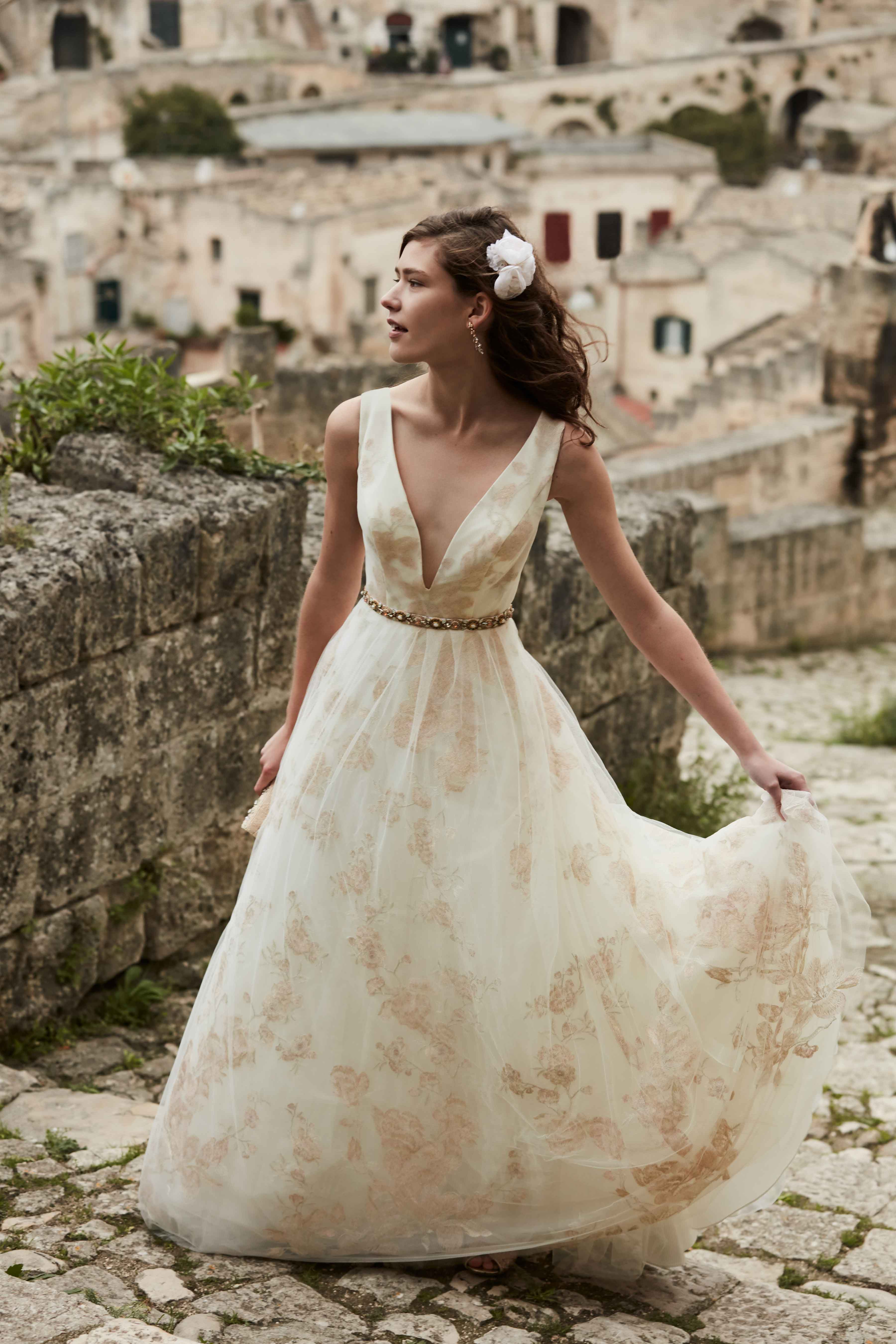 Bridal Gowns: The Newest Styles from BHLDN\'s Italian Shoot - Inside ...