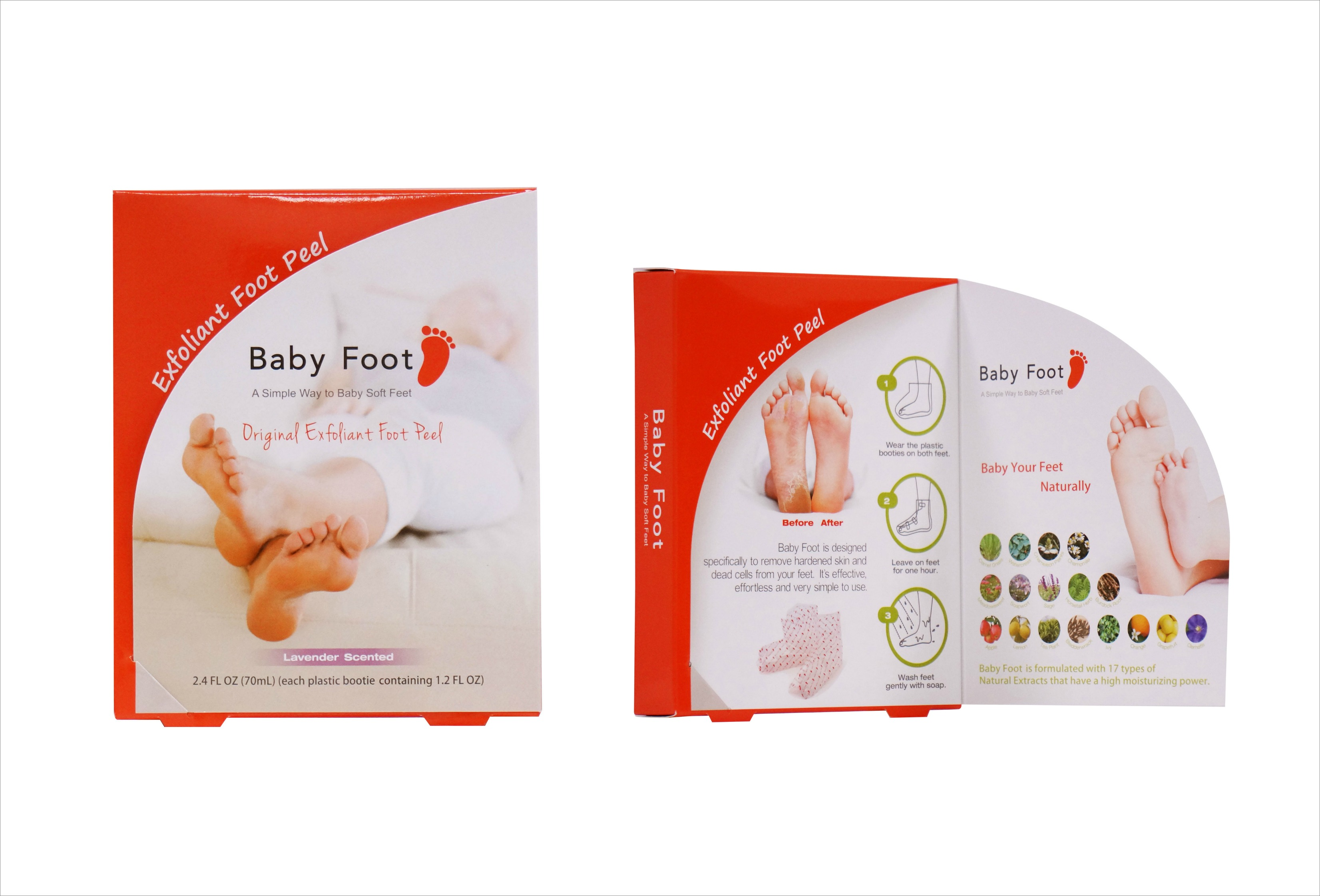 Baby Foot dead skin cell remover for feet