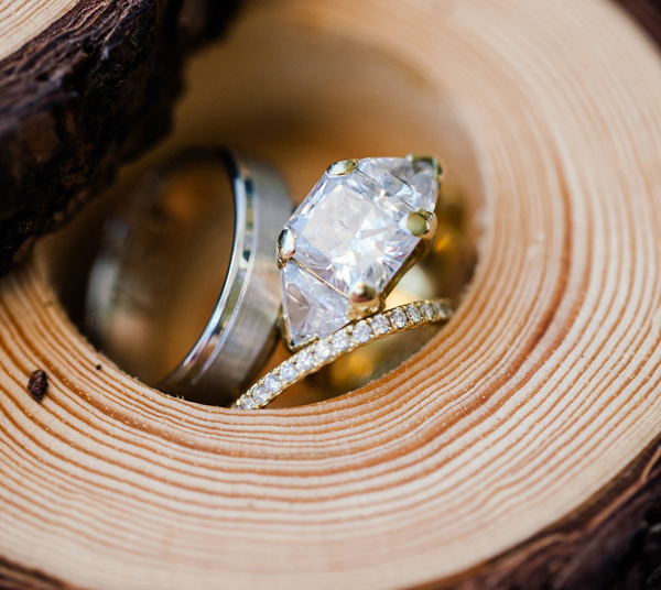 jesse plemons engaged to kirsten dunst engagement ring inspiration yellow gold side stones