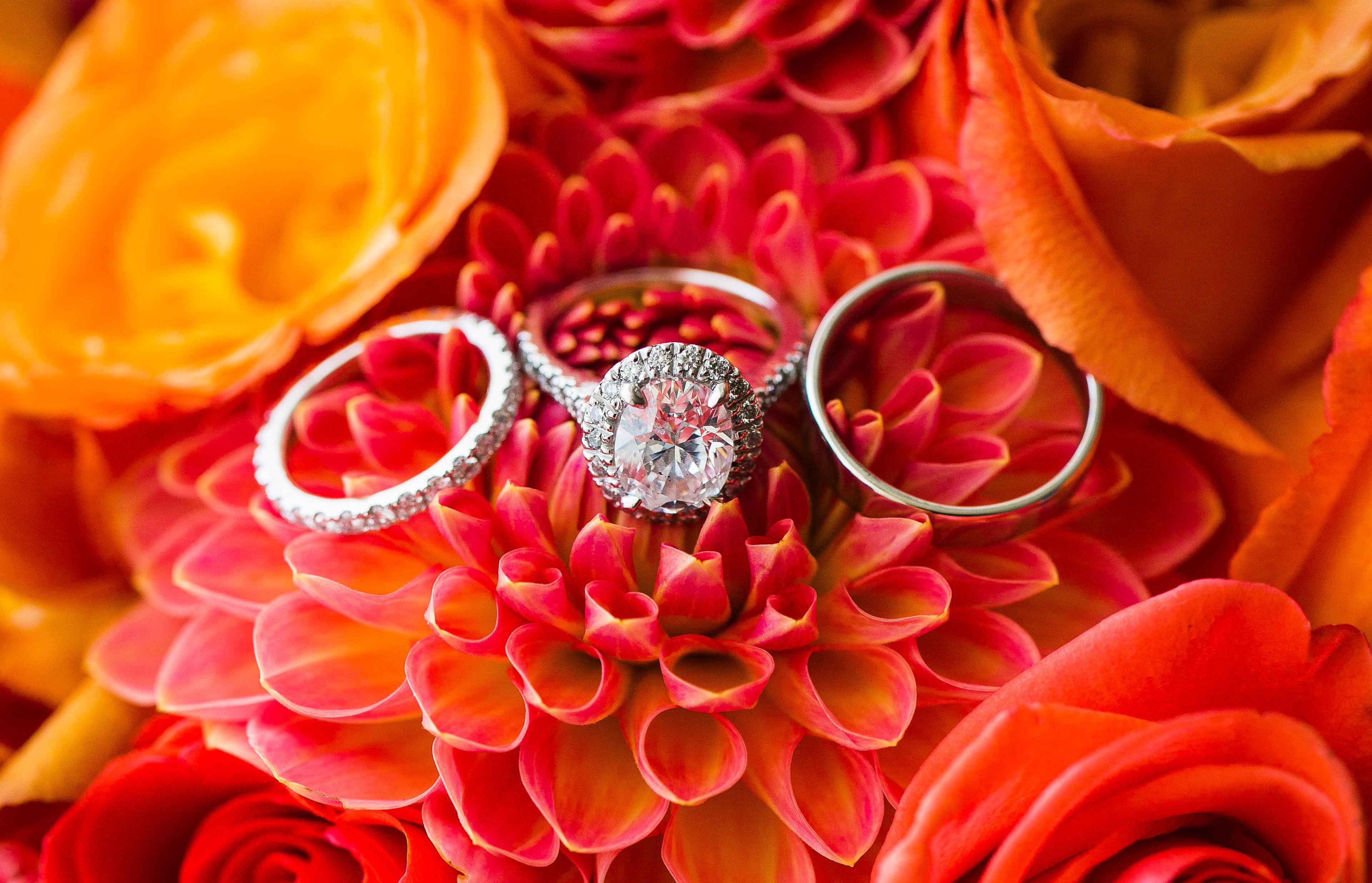 oval diamond, halo engagement ring, white gold