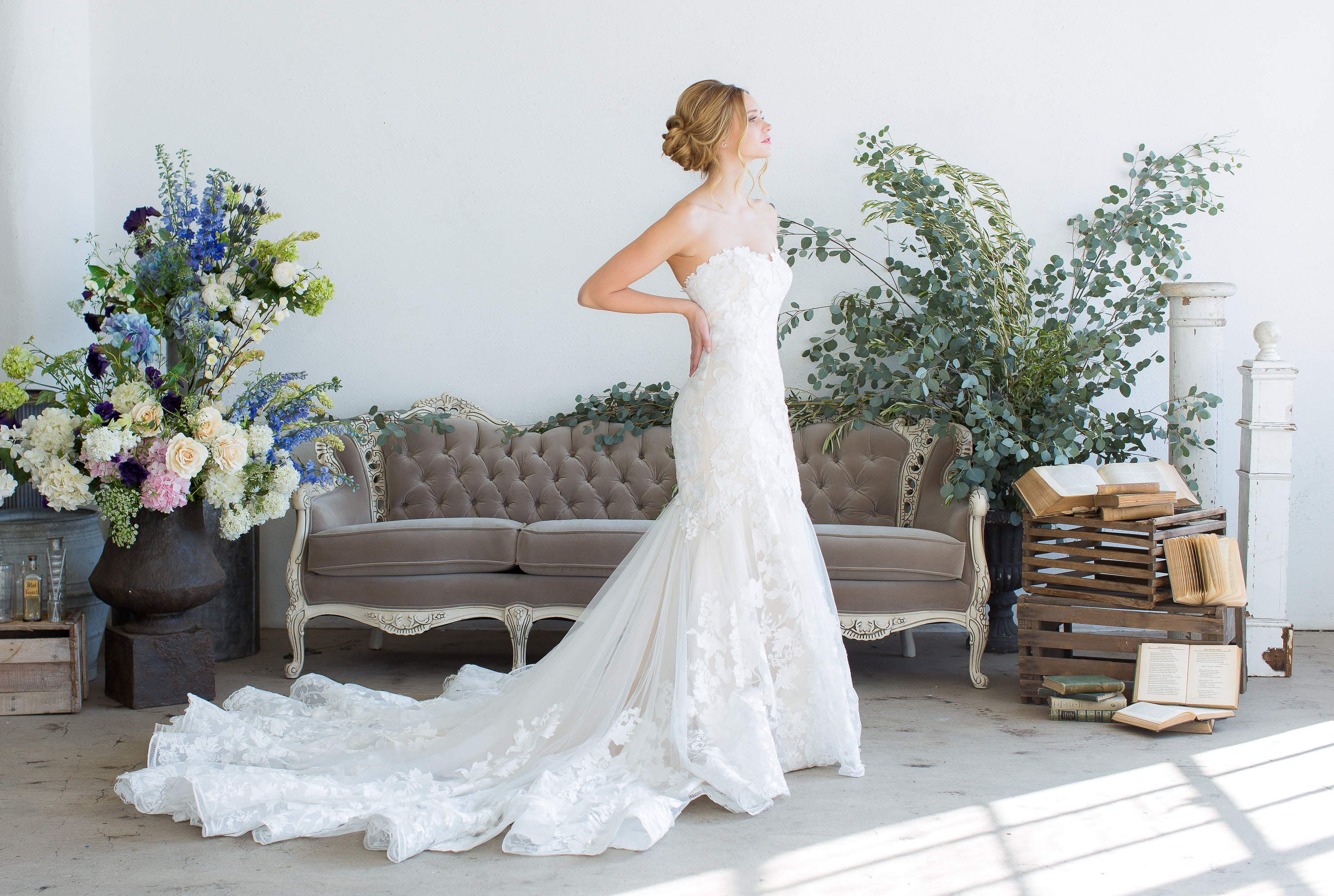 New Wedding Dresses from JINZA Couture Bridal 2017 - Inside Weddings