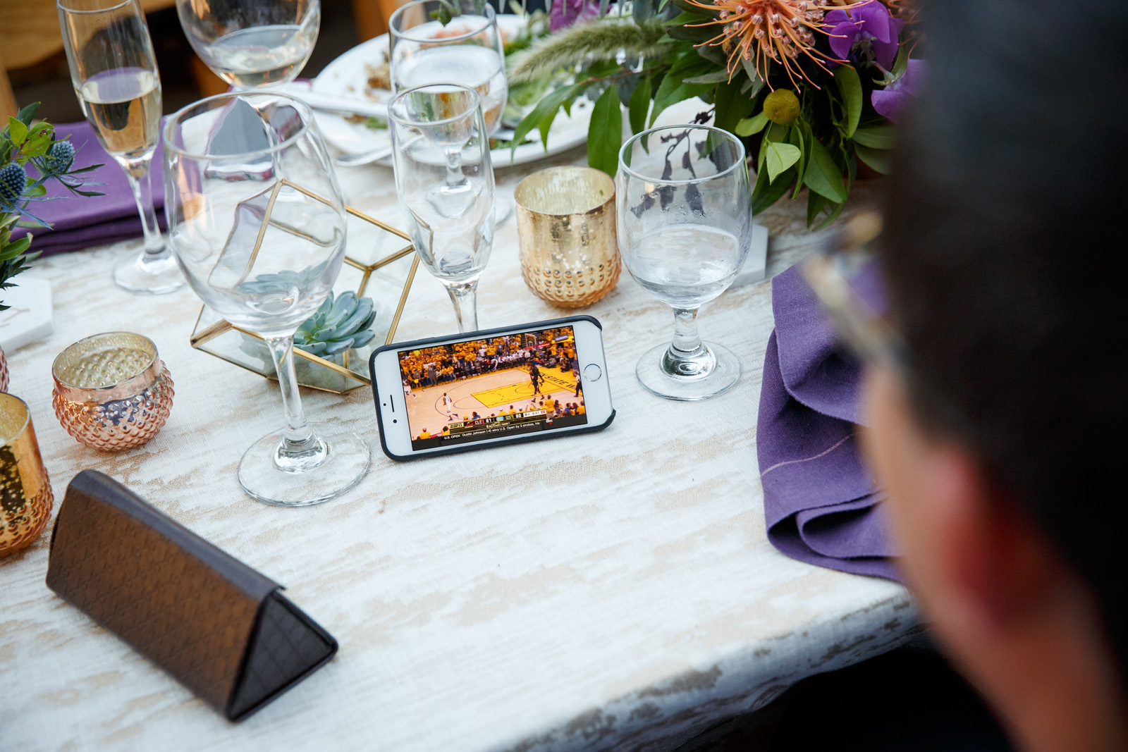 What to Do When Your Wedding Falls on Game Day