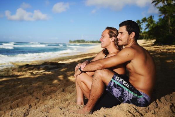 carissa moore luke untermann engaged getting married in hawaii
