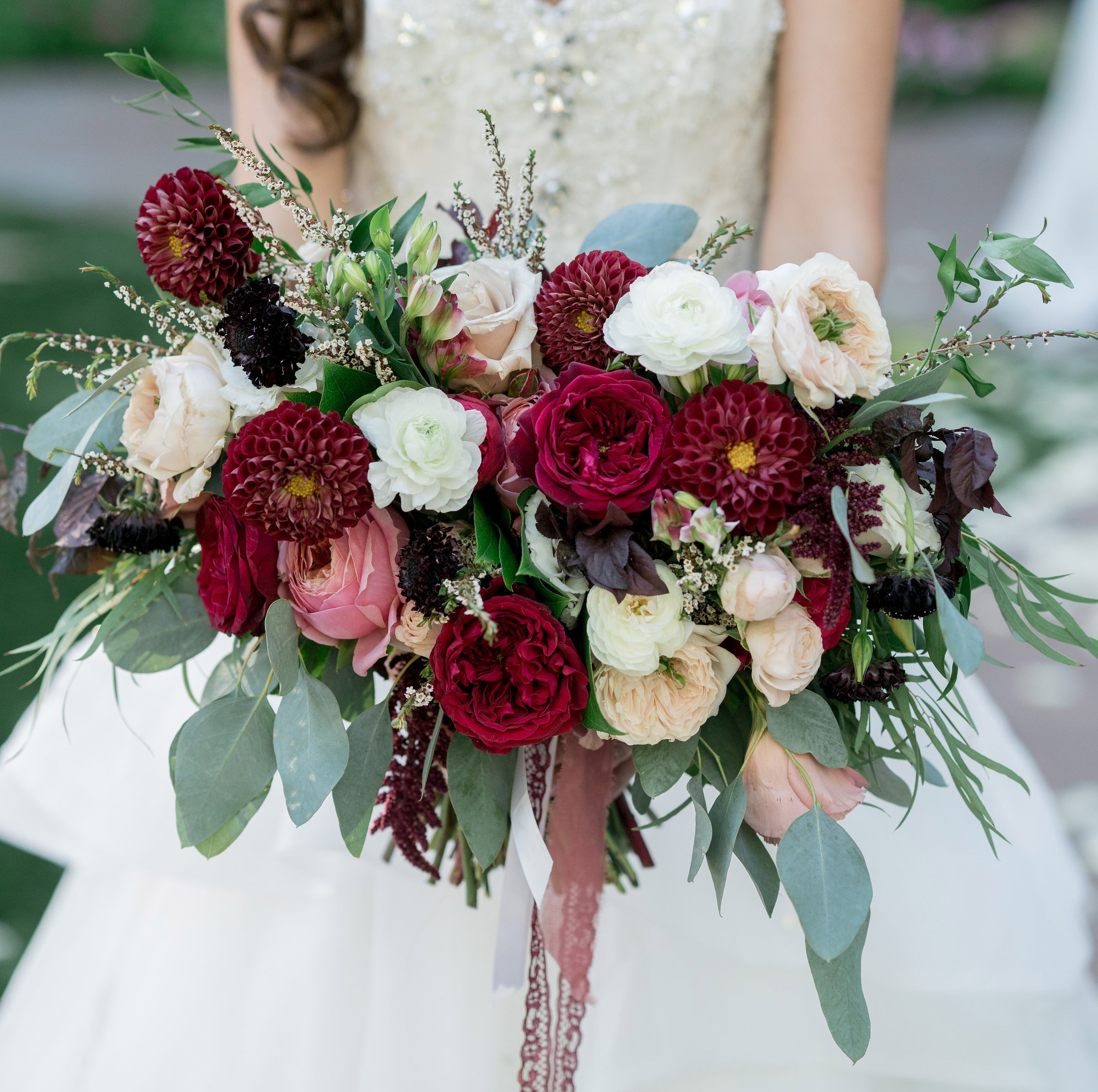 Pink Wedding Flowers: 15 Bridal Bouquets In Valentine-Inspired Shades