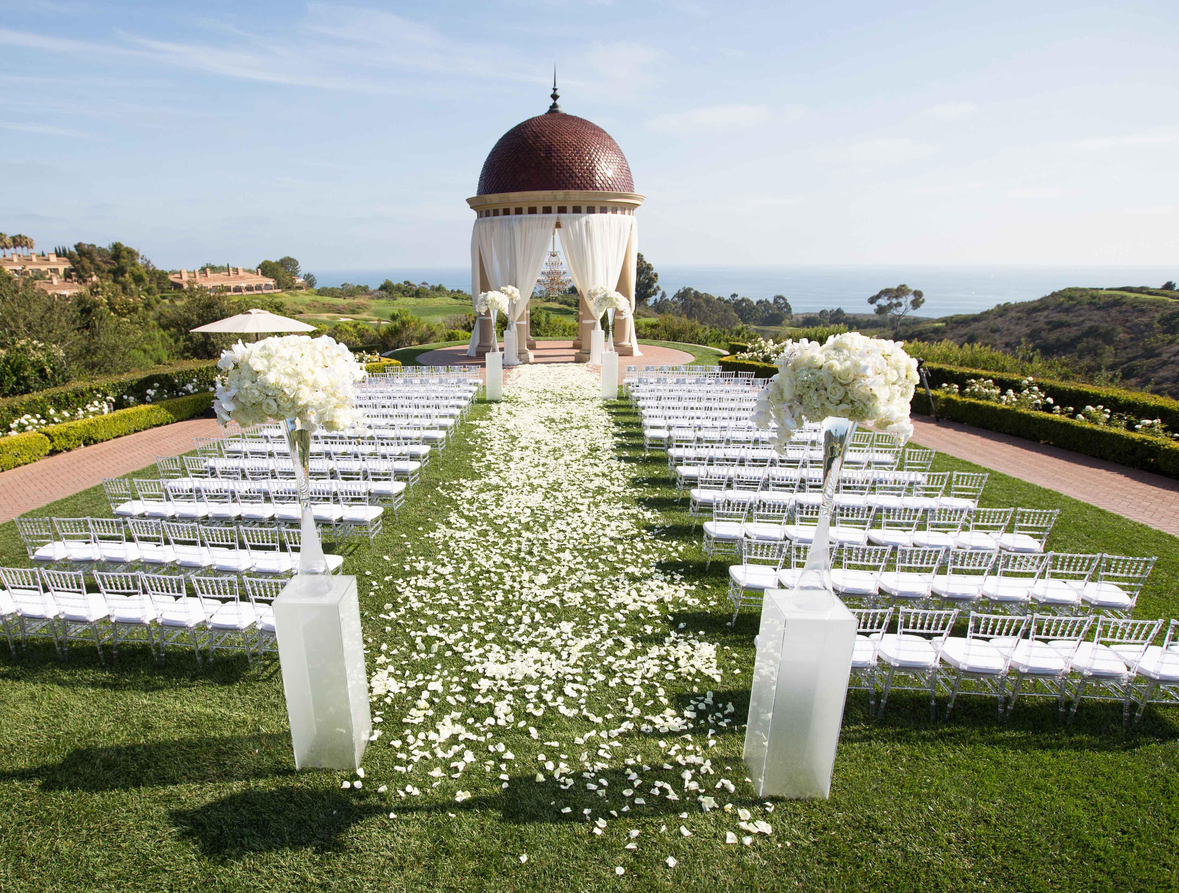 upgrade ceremony decor to make your wedding special