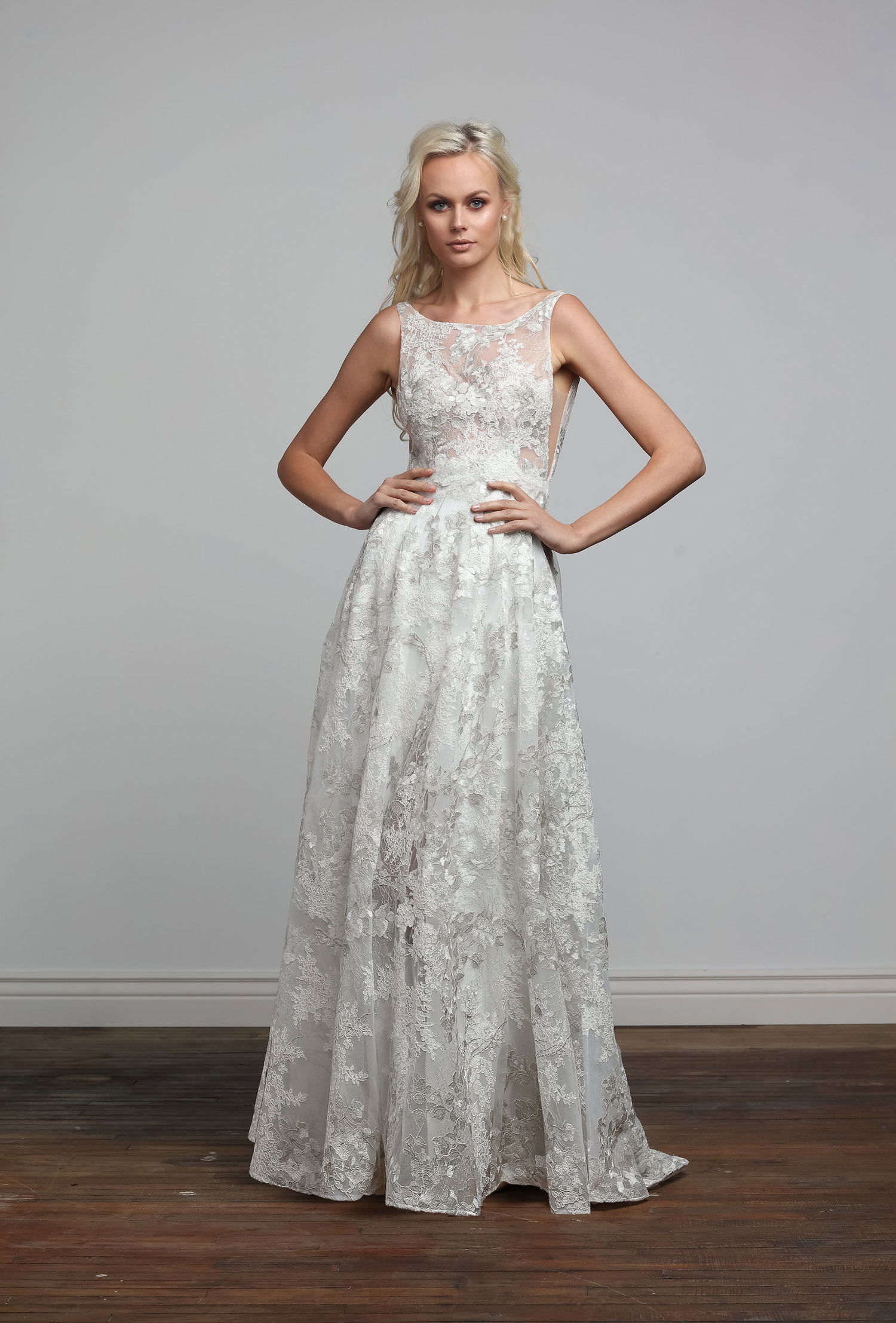 Clarissa bridal gown wedding dress from the Joy Collection by Barbara Kavchok spring 2018