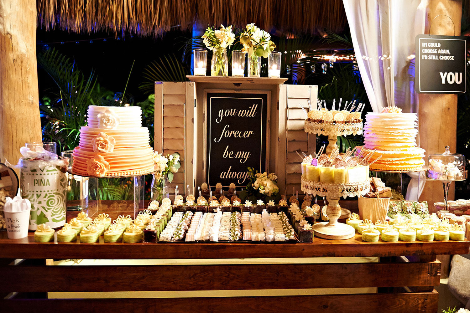 Is A Dessert Station Right For Your Wedding Reception