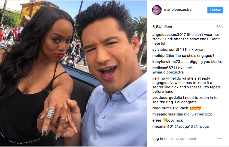 865d263839b The Bachelorette Star Rachel Lindsay is Engaged! - Inside Weddings