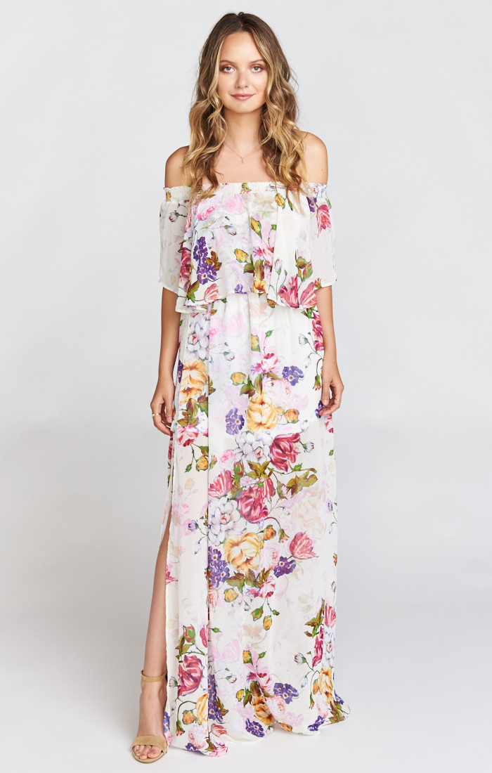 Wedding ideas 25 wedding guest dresses you 39 ll love for Maxi dress to wear to wedding