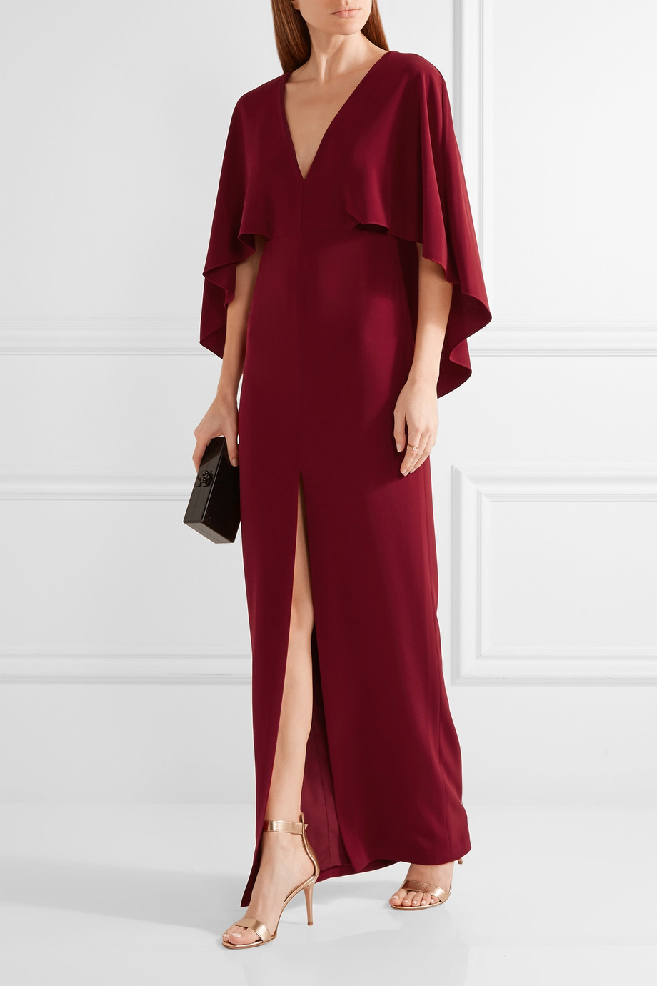 Wedding ideas 25 wedding guest dresses you 39 ll love for Maroon wedding guest dress