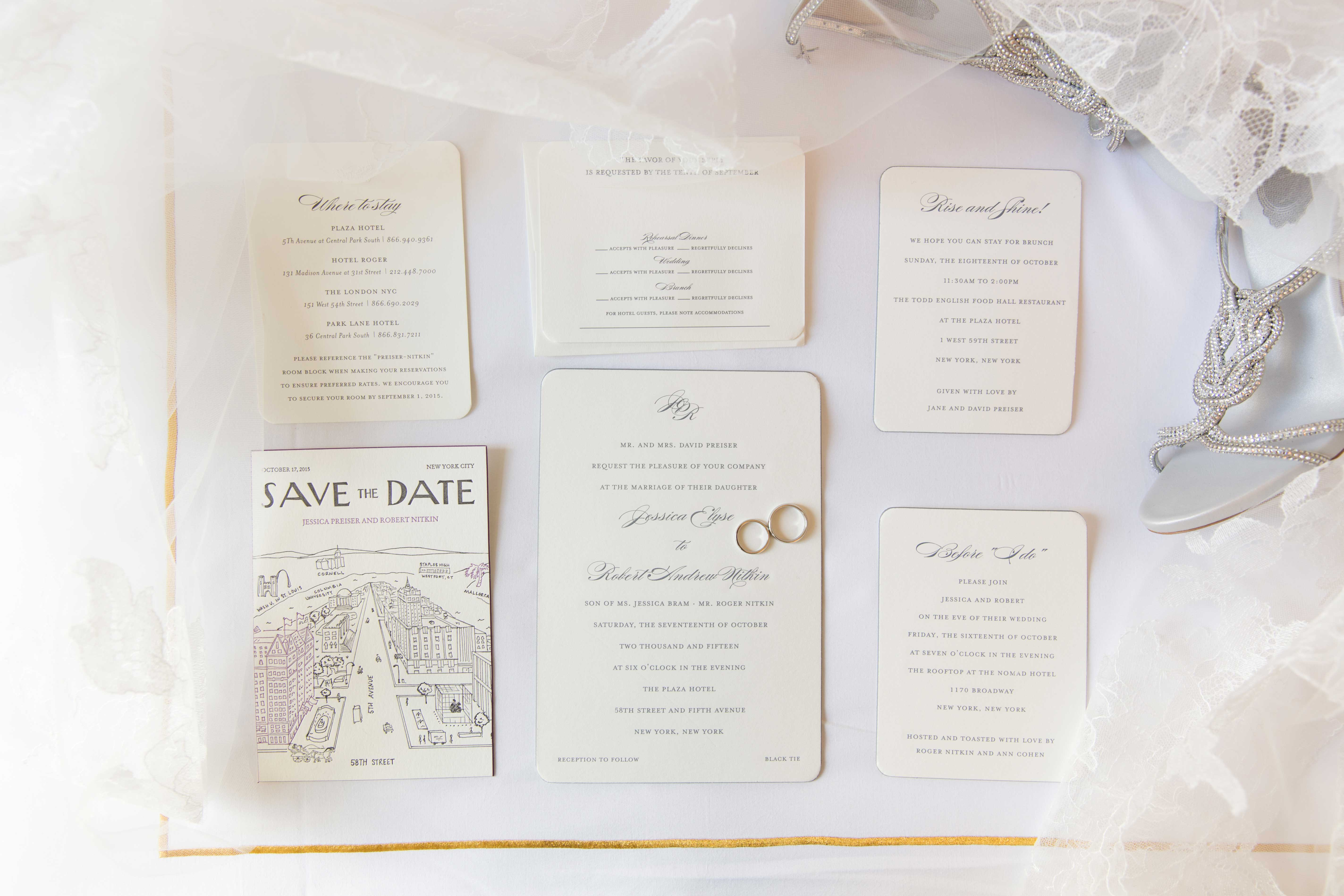 The Basic Design Differences Between Wedding Save the Dates and ...