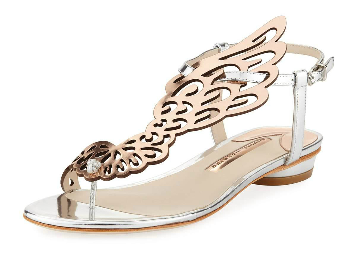 Wedding Shoes: Comfortable Flats & Sandals for the Bride - Inside ...