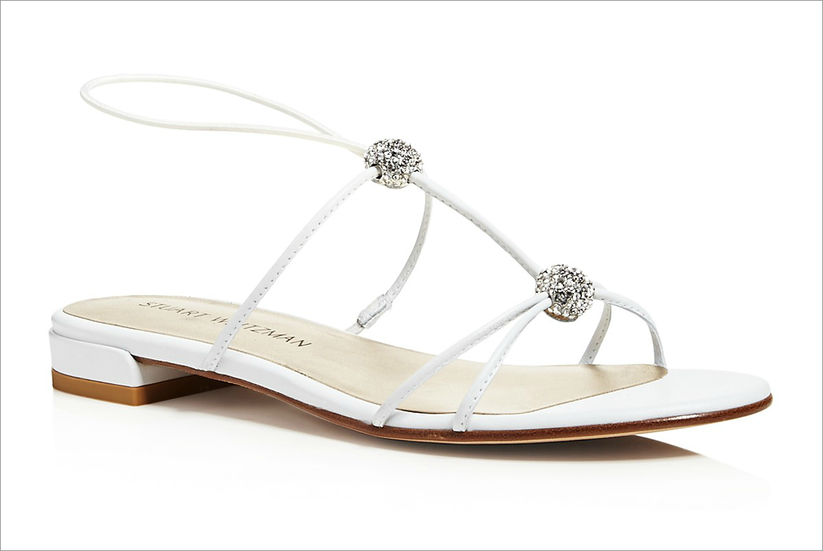 """Tweety"" sandals, $278.60 by Stuart Weitzman; shopbop.com"