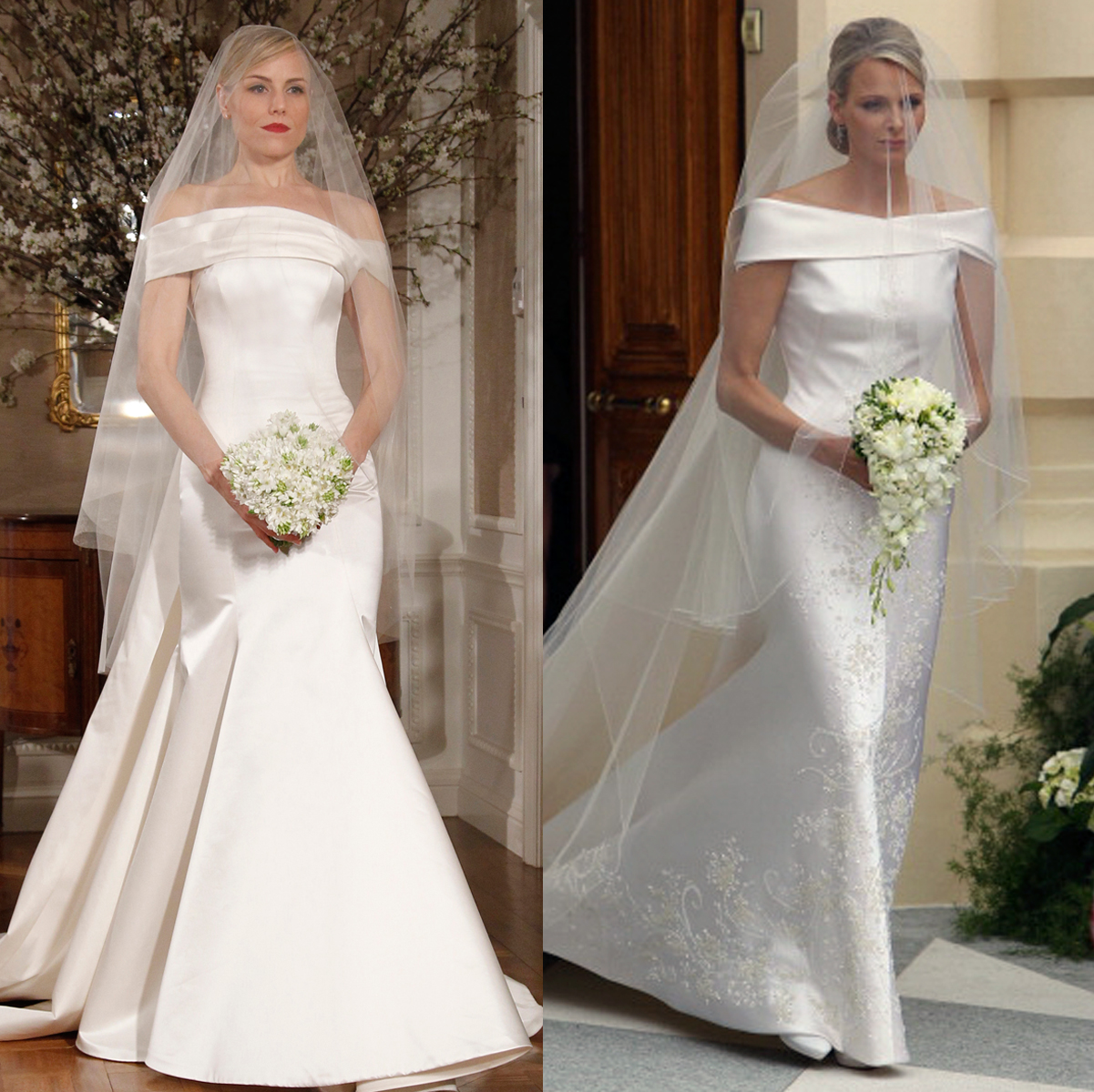 romona keveza look 242 charlene wittstock wedding dress