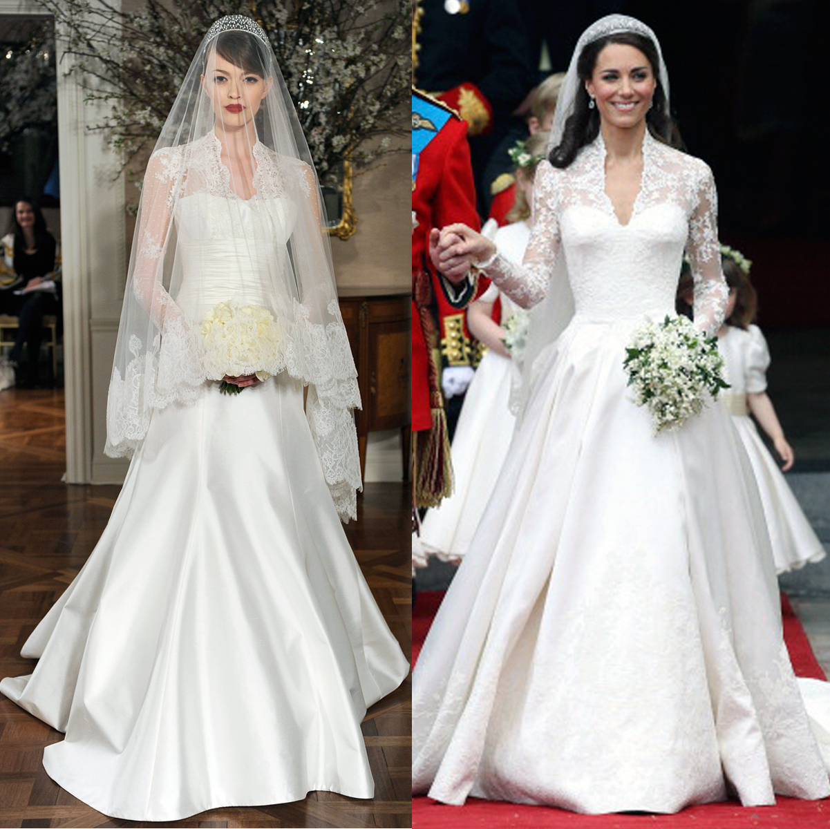 Kate Middletons Wedding Dresses.Bridal Designer Romona Keveza S Royal Wedding Dress