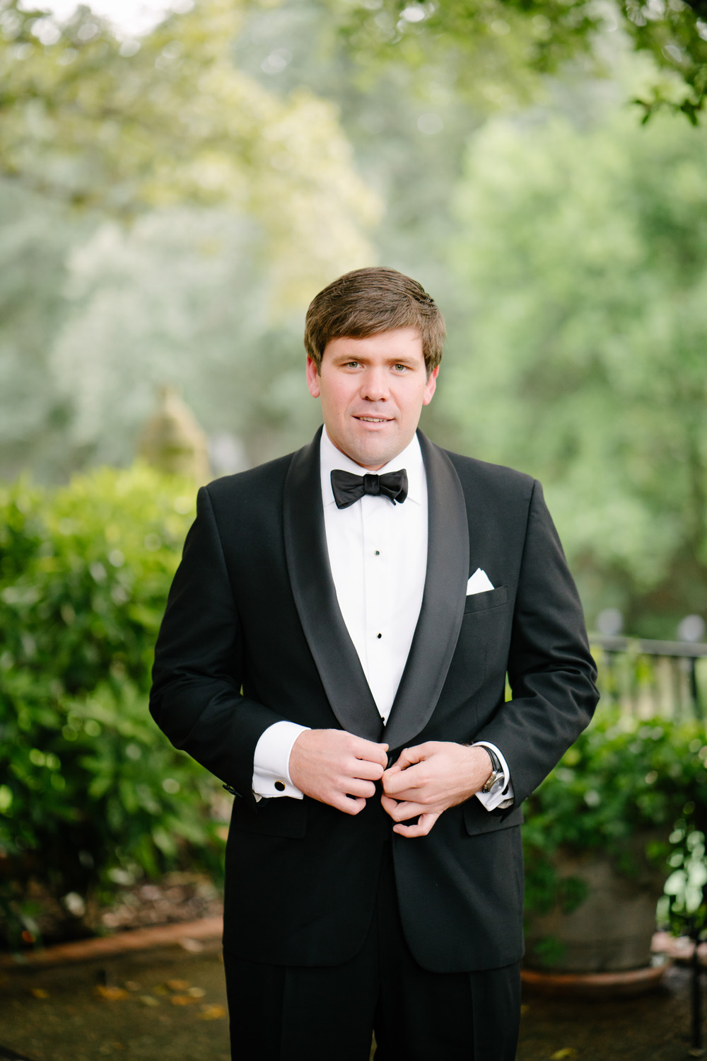 southern wedding classic tuxedo for groom