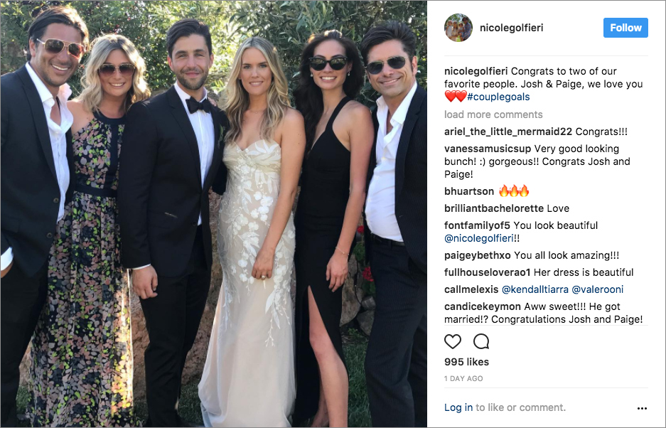 Josh Peck Is Married Get The Look Of His Classic Tux