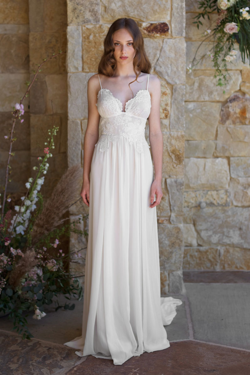 Photo By Feather And Stone Gown Claire Pettibone Romantique