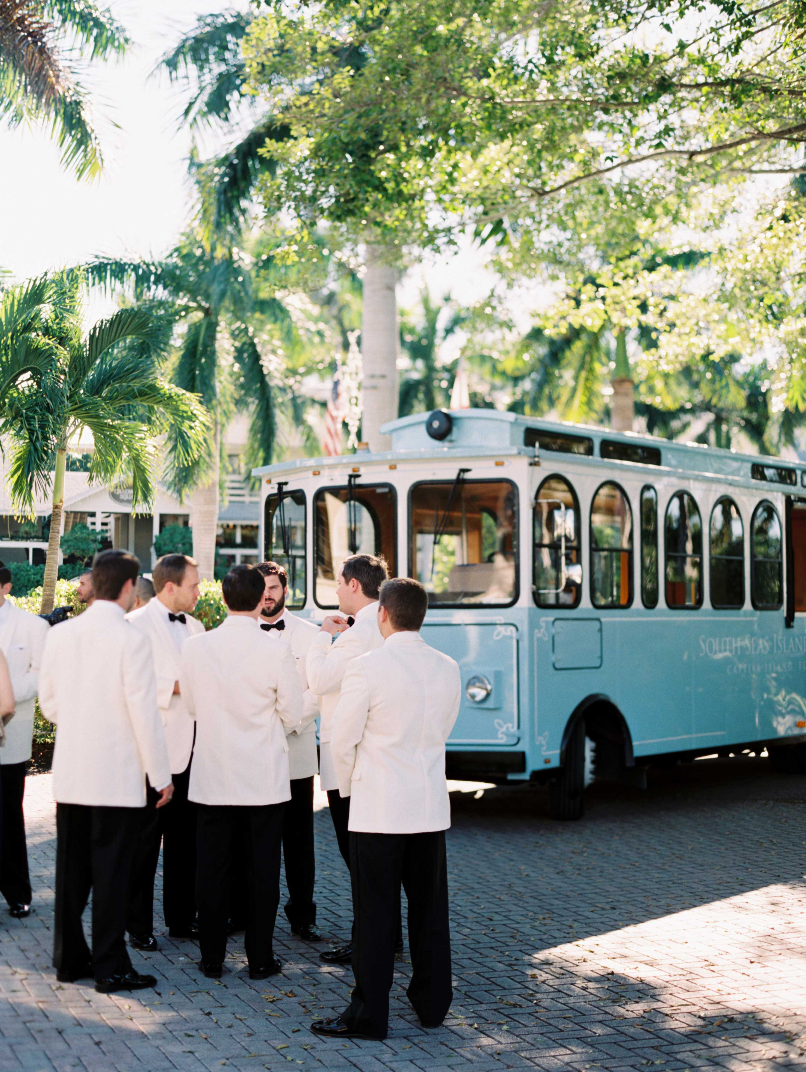 do you need to provide transportation for your wedding guests?